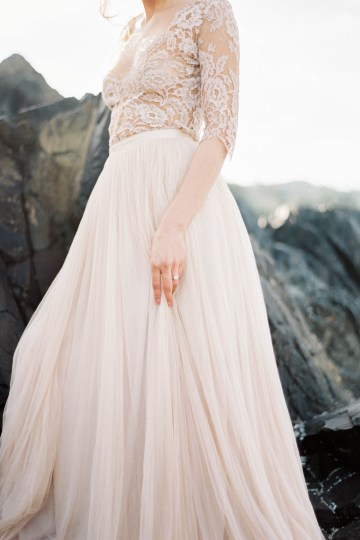 Ethereal Pacific Northwest Beachy Wedding Inspiration   Jessica Lynn Photography 9