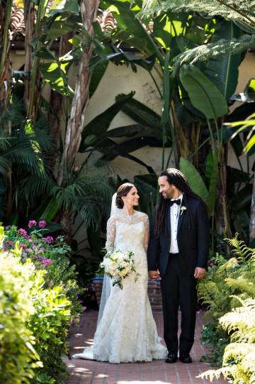 Glamorous Santa Barbara Wedding (With The Sweetest Flower Girl!)   Laurie Bailey Photo 28