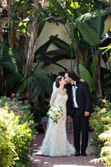 Glamorous Santa Barbara Wedding (With The Sweetest Flower Girl!)   Laurie Bailey Photo 29