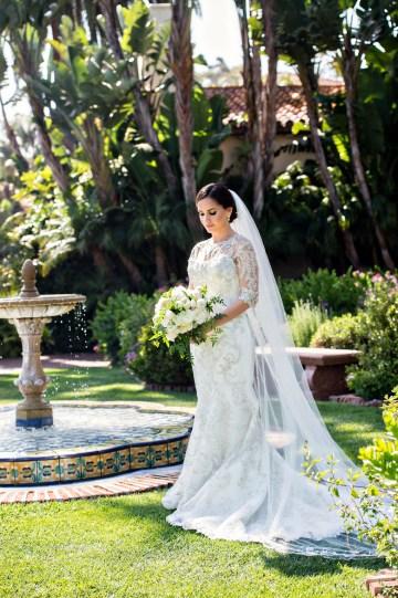 Glamorous Santa Barbara Wedding (With The Sweetest Flower Girl!)   Laurie Bailey Photo 30