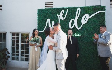 Cool Industrial San Diego Gallery Wedding (With Tacos!)