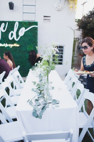 Modern Hip Taco Wedding In A Funky Gallery Venue | Claire Eliza 31