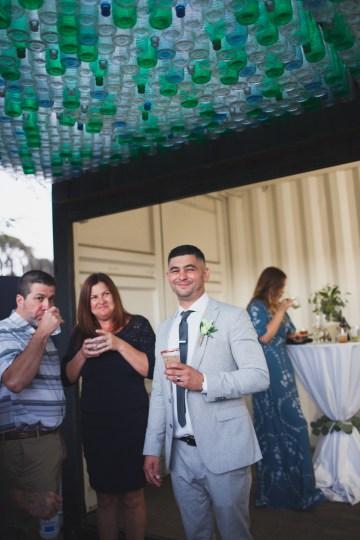 Modern Hip Taco Wedding In A Funky Gallery Venue | Claire Eliza 45