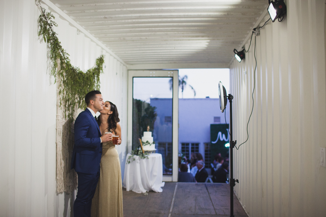 Modern Hip Taco Wedding In A Funky Gallery Venue | Claire Eliza 46