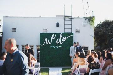 Modern Hip Taco Wedding In A Funky Gallery Venue | Claire Eliza 5