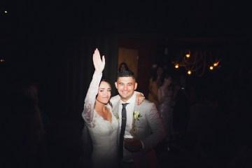 Modern Hip Taco Wedding In A Funky Gallery Venue | Claire Eliza 56