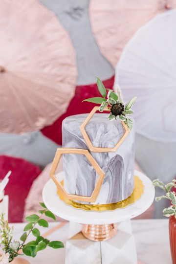 Modern Japanese Inspired Rooftop Wedding Inspiration (With Sushi & Uni, Yum!) | CCL Events | Christine Farah Photography 10