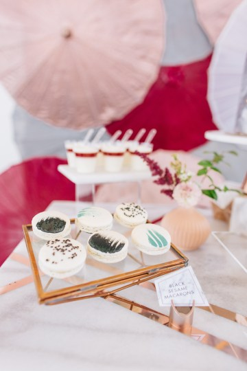 Modern Japanese Inspired Rooftop Wedding Inspiration (With Sushi & Uni, Yum!) | CCL Events | Christine Farah Photography 11