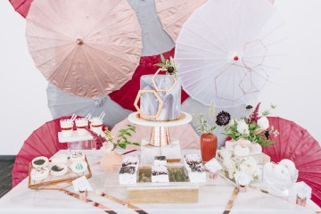 Modern Japanese Inspired Rooftop Wedding Inspiration (With Sushi & Uni, Yum!) | CCL Events | Christine Farah Photography 48