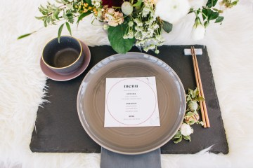 Modern Japanese Inspired Rooftop Wedding Inspiration (With Sushi & Uni, Yum!) | CCL Events | Christine Farah Photography 54