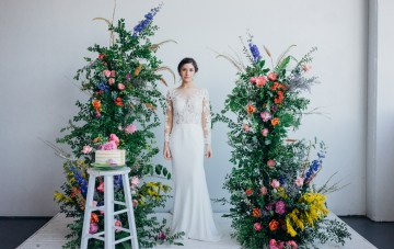 Garden Goddess; Feminine & Fierce Muse Wedding Dresses By Morilee