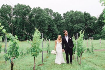 Relaxed Virginia Winery Wedding | Alison Leigh Photography 31