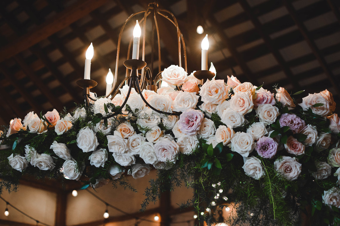 Romance In The Rain; Rustic Barn Wedding Ideas With Dramatic Florals | Flor de Casa Designs 25