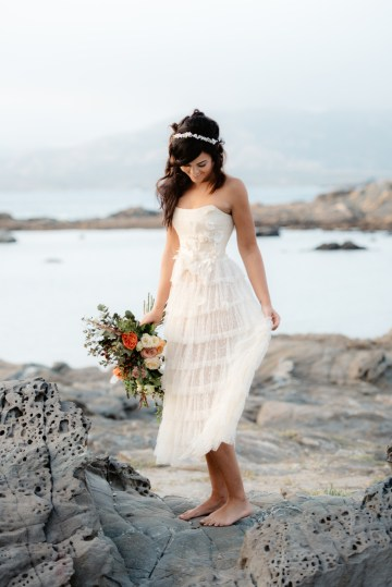 Shipwrecked; Seaside Elopement Inspiration From Sardinia | Valeria Mameli 24
