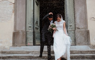 Simple & Elegant Cathedral Wedding in Italy