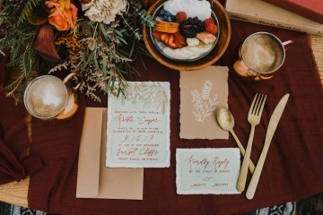 Southwestern Styled Beachy Wedding Ideas | Flourish | Madeline Barr Photo 18