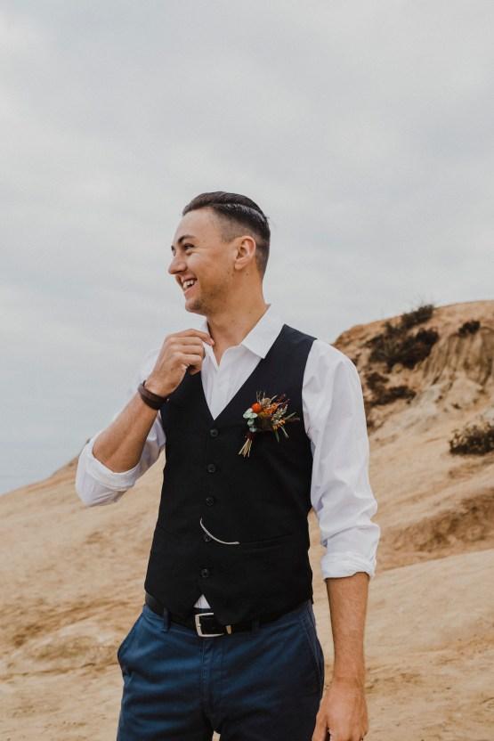 Southwestern Styled Beachy Wedding Ideas | Flourish | Madeline Barr Photo 28
