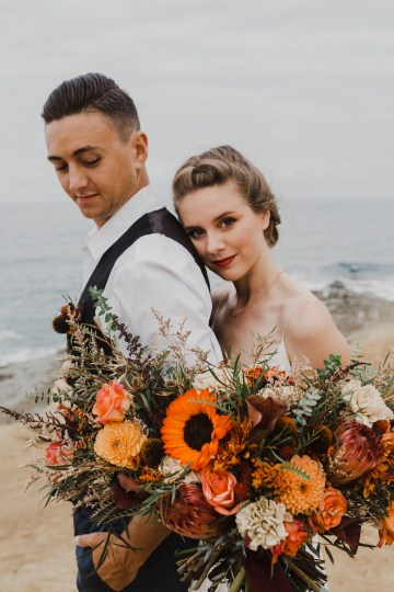 Southwestern Styled Beachy Wedding Ideas | Flourish | Madeline Barr Photo 29
