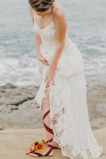 Southwestern Styled Beachy Wedding Ideas | Flourish | Madeline Barr Photo 33