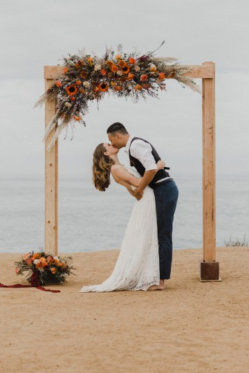 Southwestern Styled Beachy Wedding Ideas | Flourish | Madeline Barr Photo 37
