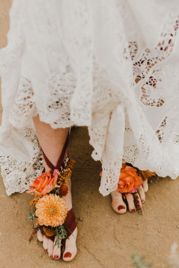 Southwestern Styled Beachy Wedding Ideas | Flourish | Madeline Barr Photo 42
