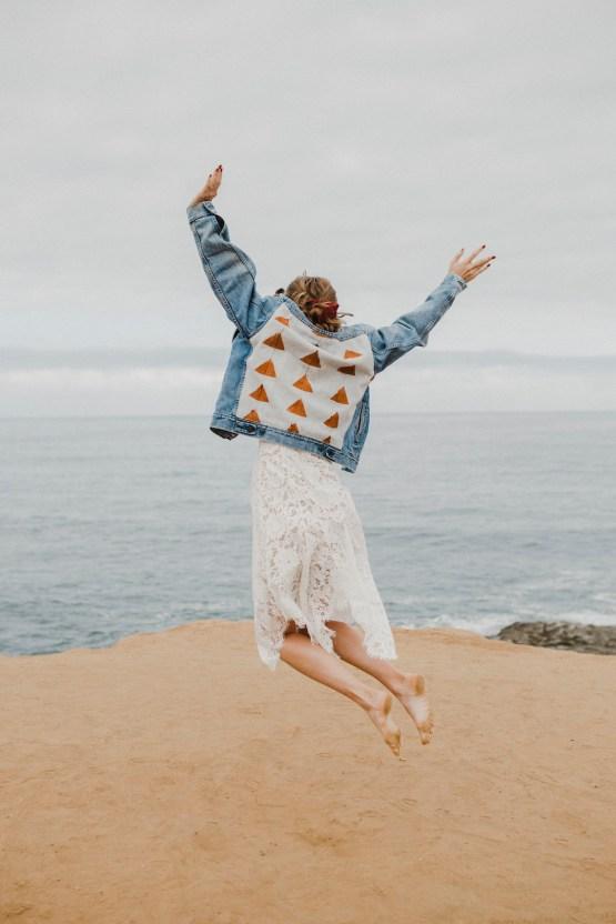 Southwestern Styled Beachy Wedding Ideas | Flourish | Madeline Barr Photo 47