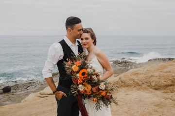 Southwestern Styled Beachy Wedding Ideas | Flourish | Madeline Barr Photo 6