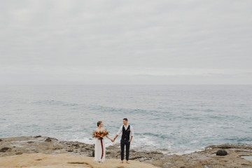 Southwestern Styled Beachy Wedding Ideas | Flourish | Madeline Barr Photo 8