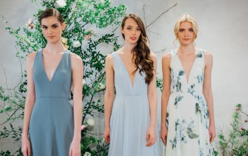 Best Of Bridal Fashion Week: Jenny Yoo Fall 2018 Bridal & Bridesmaid Collections