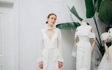 Best Of Bridal Fashion Week: Ever-So-Cool, Modern Wedding Dresses By Livne White
