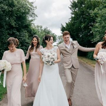Charming & Personal Clock Barn Wedding | Amber Marie Photography 10