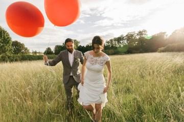 Charming & Personal Clock Barn Wedding   Amber Marie Photography 18