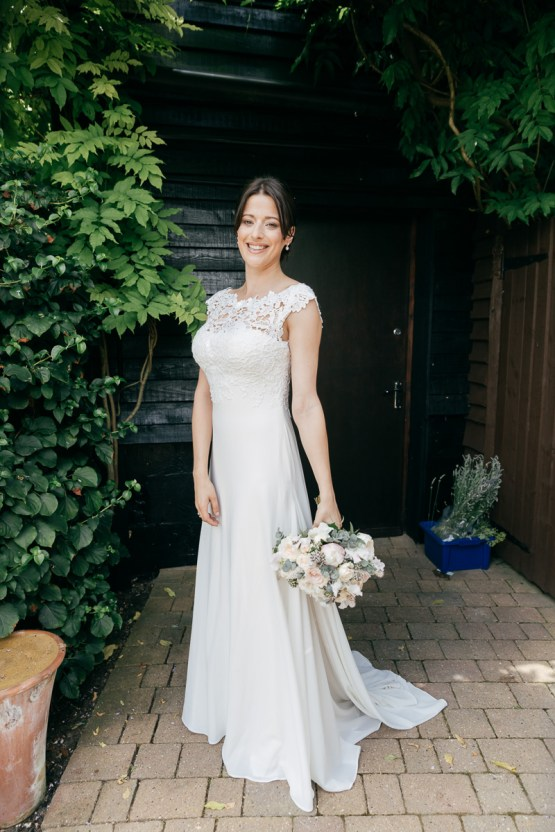 Charming & Personal Clock Barn Wedding | Amber Marie Photography 25