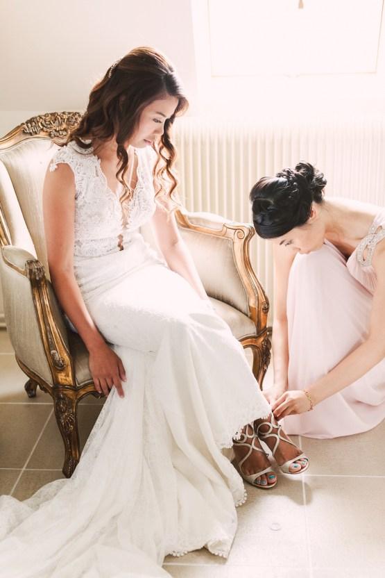 Glamorous French Chateau Wedding | Christina Sarah Photography 12