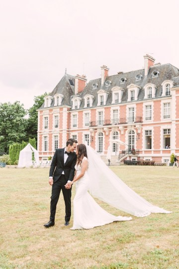 Glamorous French Chateau Wedding   Christina Sarah Photography 20