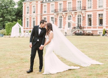 Glamorous French Chateau Wedding   Christina Sarah Photography 4