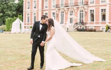 Glamorous French Chateau Wedding