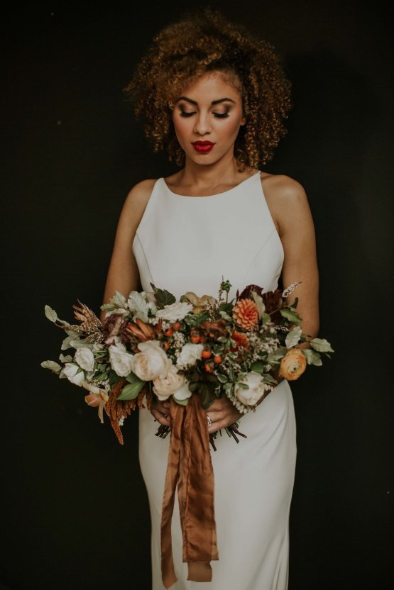 Industrial Cool Meats Winery Warmth; Candlelit Wedding Ideas | The Gifford Collective | Genesis Geiger 12
