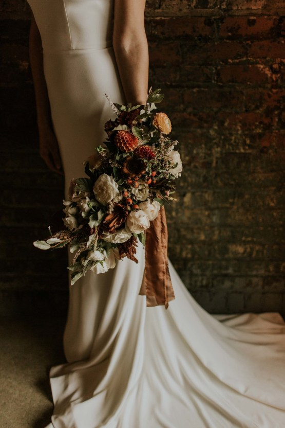 Industrial Cool Meats Winery Warmth; Candlelit Wedding Ideas | The Gifford Collective | Genesis Geiger 17