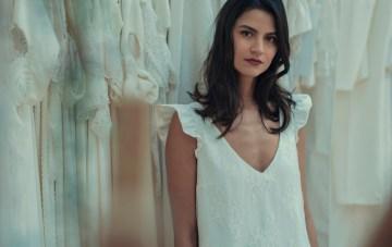 Best Of Bridal Fashion Week: Laure de Sagazan's 2018 Civil Collection Wedding Dresses