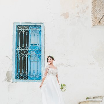 Mediterranean Meets Africa; Colorful Tunisian Wedding Inspiration | Ness Photography 23