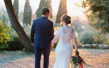 Rustic & Glamorous Tuscan Elopement