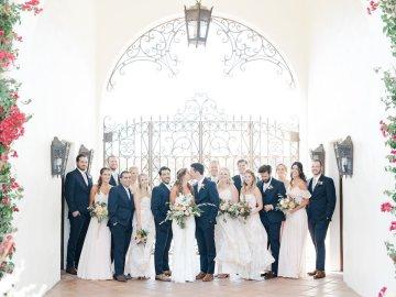 Upscale, Modern Ranch Wedding   Anya Kernes Photography 49