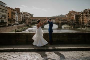 Wildy Romantic & Outrageously Fun Florence Elopement | Kelly Redinger Photography 11