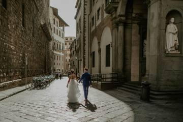 Wildy Romantic & Outrageously Fun Florence Elopement | Kelly Redinger Photography 14
