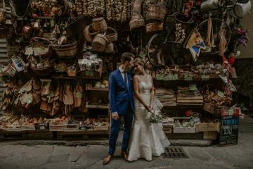 Wildy Romantic & Outrageously Fun Florence Elopement | Kelly Redinger Photography 27