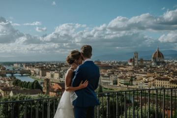 Wildy Romantic & Outrageously Fun Florence Elopement | Kelly Redinger Photography 33