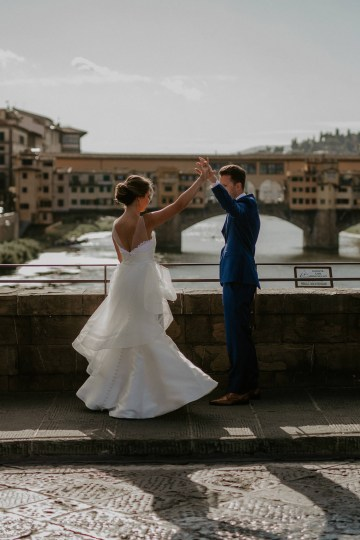 Wildy Romantic & Outrageously Fun Florence Elopement | Kelly Redinger Photography 41