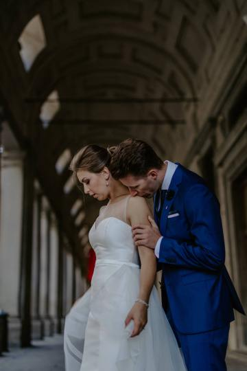 Wildy Romantic & Outrageously Fun Florence Elopement | Kelly Redinger Photography 46