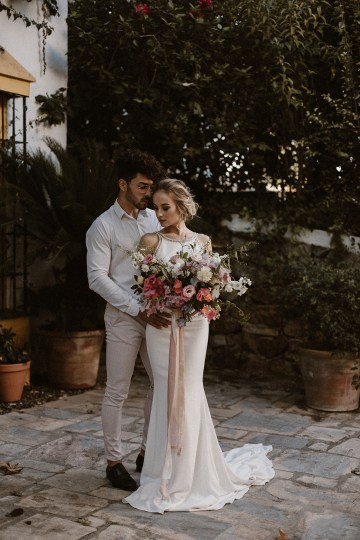 Bougainvillea Wedding Inspiration With Modern Silk Gowns   IDO Events   Kevin Klein 13